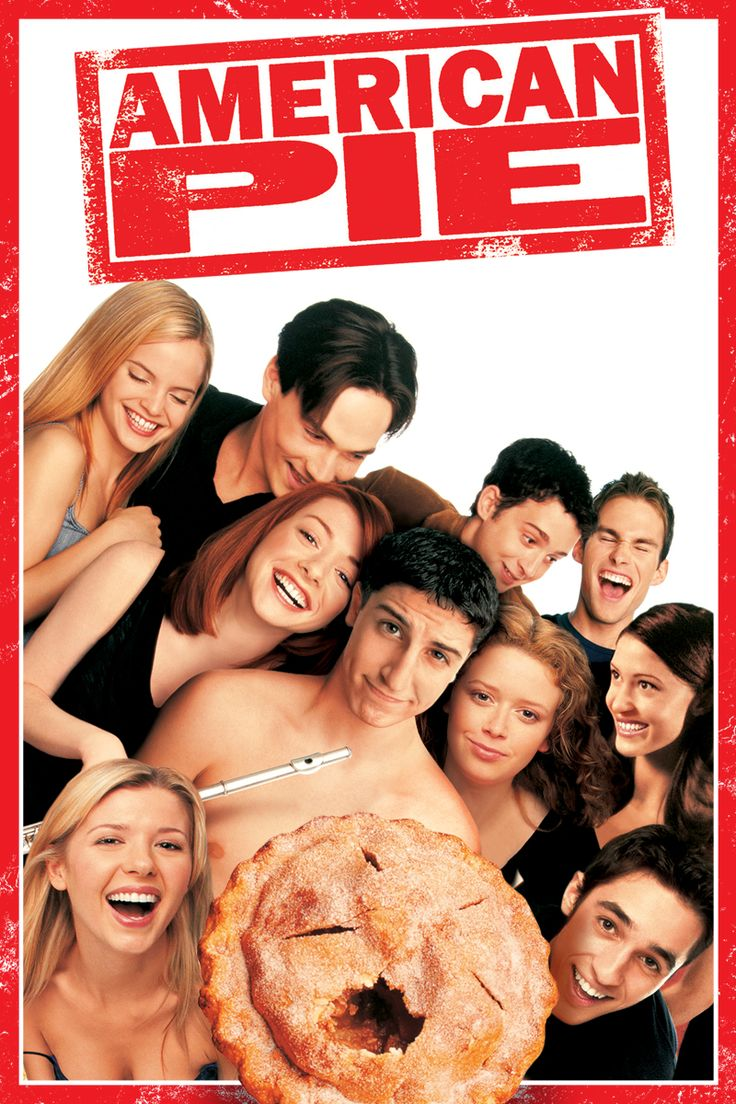 "American Pie - Follows the hapless adventures of four ""unlucky in love"" high school friends as they gear up for the prom."