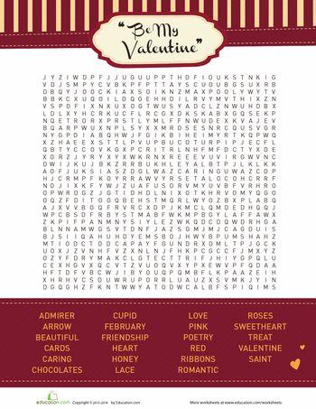 61 best Valentine\'s Day Worksheets/Printables images on Pinterest ...