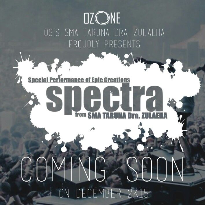 Design COMING SOON 'SPECTRA' by kep