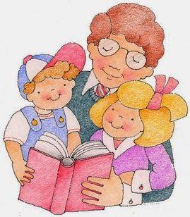Sección FAMILIAS LECTORAS en el blog de la biblioteca del CEIP Isabel la Católica, La Zubia