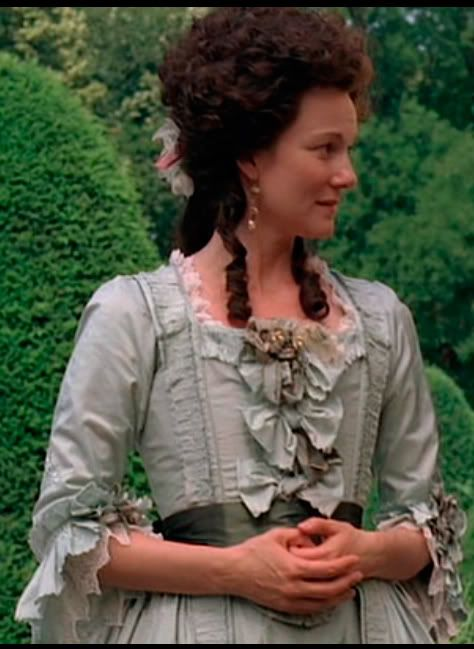John Adams...LOVE this movie! Laura Linney as Abigail Adams, tremendous performance. She was a huge power behind the throne!