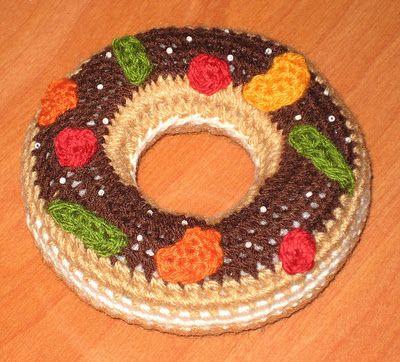 Bichus Amigurumis: Roscon de Reyes