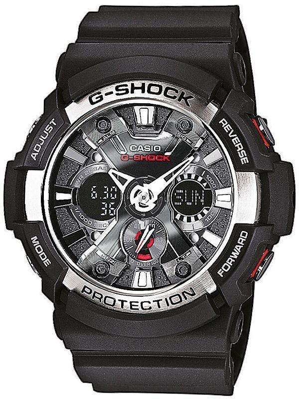 Casio GA-200-1AER G-Shock Ceas Barbatesc Cod produs: mid-7906  Acum: 669,55 lei Pret recomandat*: 691,88 lei