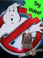 Ghostbusters Proton Pack Projector Toy Video
