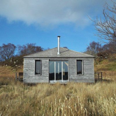 Bothy cabin in Scotland for Carpenter Oak | Life Space Cabins