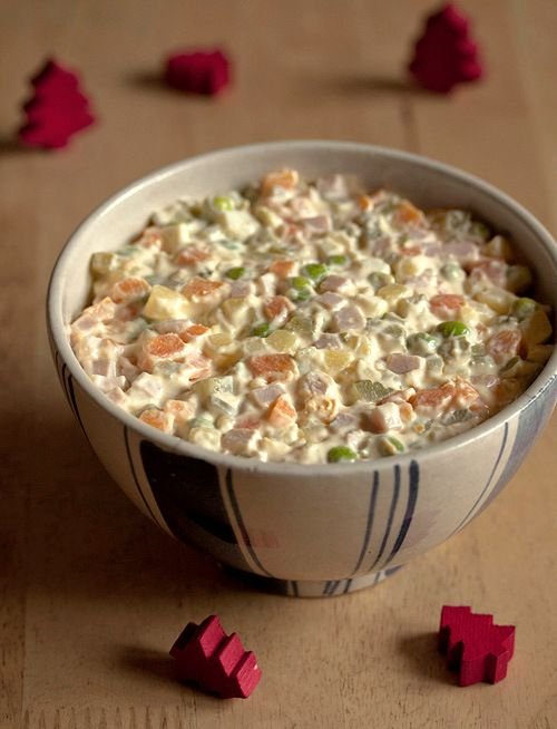 Provereni recepti. Cooks and Bakes: Ruska salata