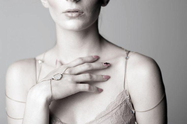 Hand chains from House of Juneberry #bodychains #Rihanna #handchains www.houseofjuneberry.com