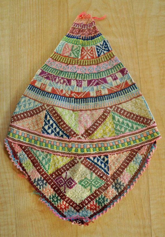 Beautiful Antique Peruvian Hat by entercambio on Etsy, $30.00