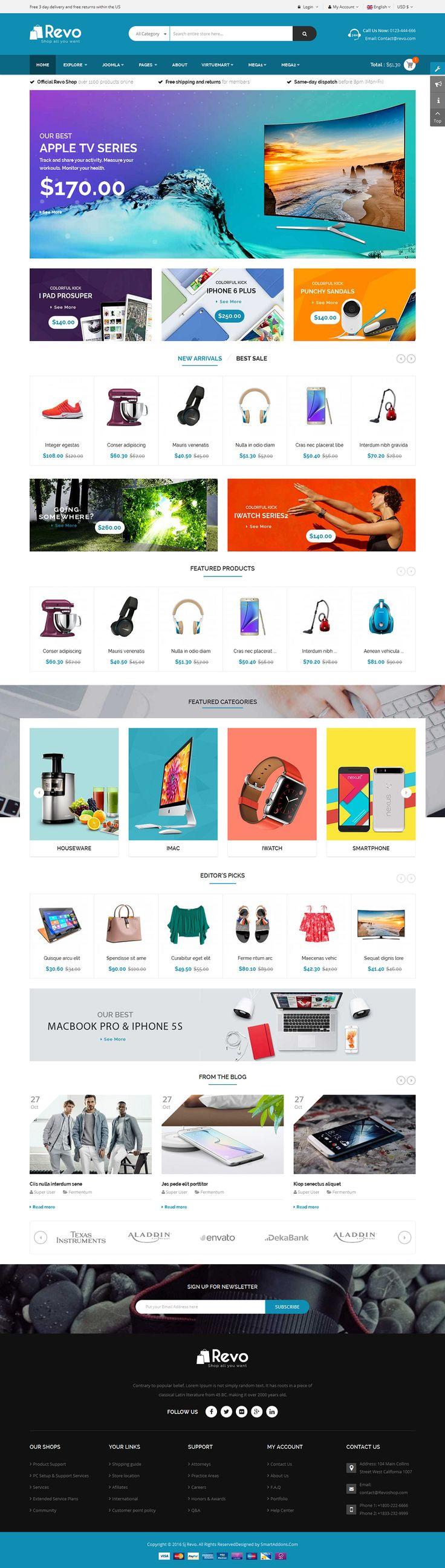 165 best Joomla Templates (PRO!) images on Pinterest