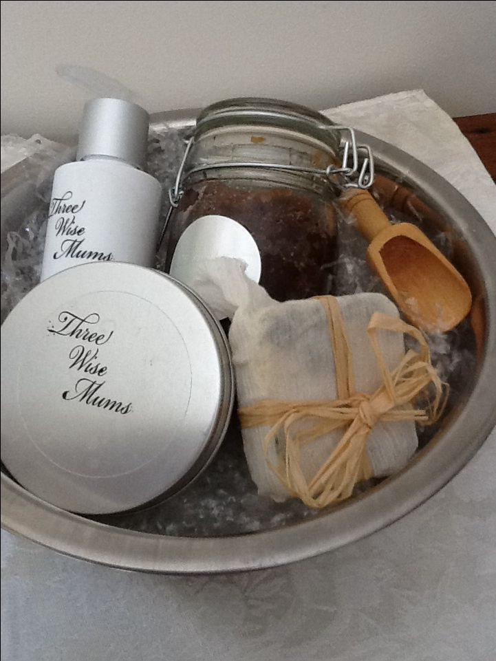 A Facial Pamper Pack - Rosemary & Witch hazel face wash, Honey Sugar Scrub, Avocado body butter, Coffee Moisturising Lotion Bar; comes in a bowl so you can give yourself a steam facial and then pamper yourself with all natural scrubs and moisturisers