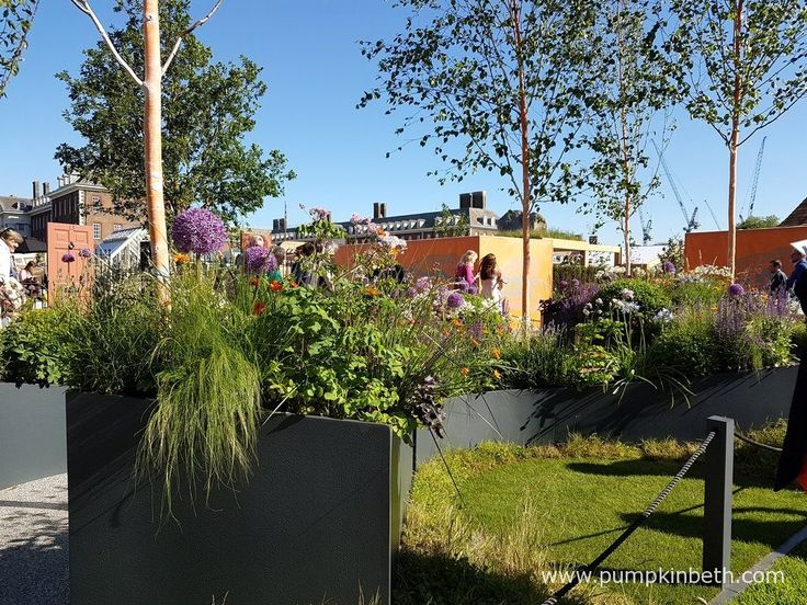 The Sir Simon Milton Foundation Urban Connections Garden was sponsored by the Victoria Business Improvement District. This Fresh Garden was designed by Lee Bestall & Paul Robinson, and built by Jon Housley for The RHS Chelsea Flower Show 2016.