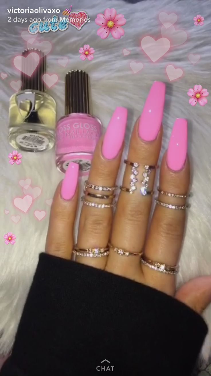 Pink Nails - follow pin: @jaytopiaa (there's more)