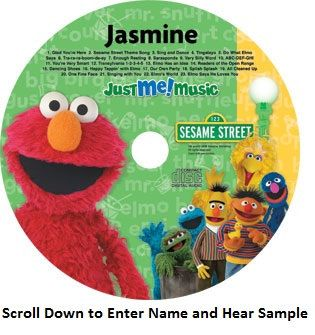 Elmo and friend sing along. Elmo sings to your child using his/her name over 50 times in the CD.  See more at:www.PersonalizedBooksRUs.com Elmo and Friends sing along