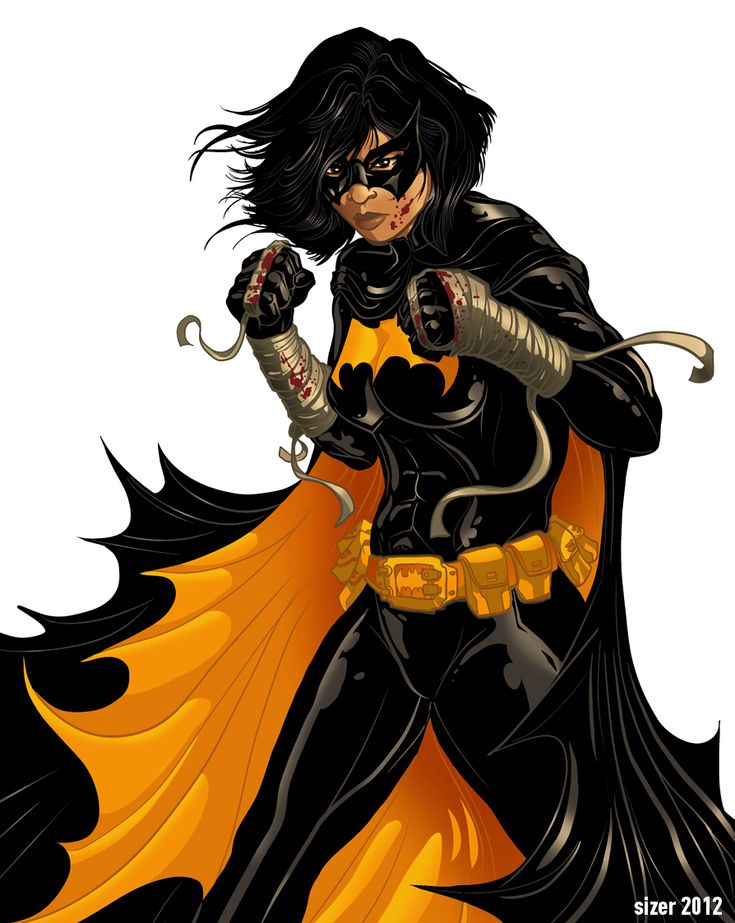 Batgirl and Supergirl | Cassandra Cain BLACK BAT Colors by PaulSizer