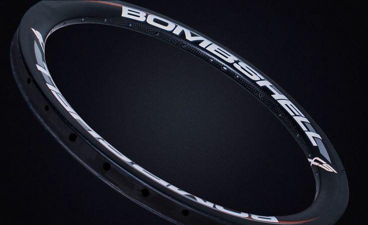 Bombshell SL carbon bmx rim