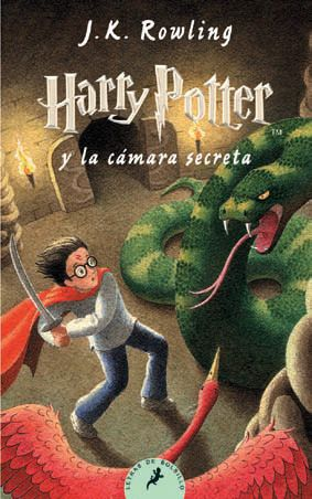 Harry Potter y la cámara secreta libro