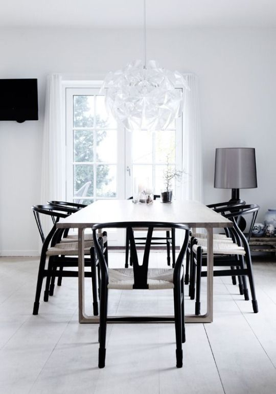 243 best Wishbone dining chair ideas images on Pinterest