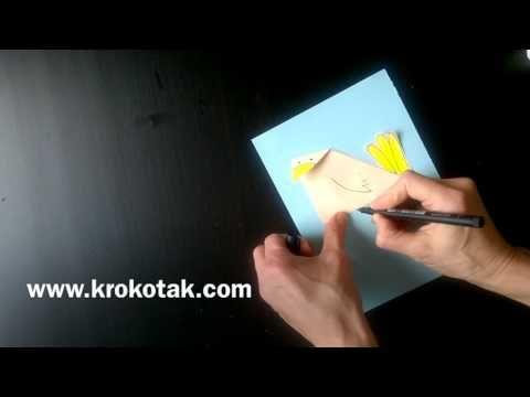 Jak vyrobit jednoduché papírové ptáky |  krokotak