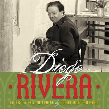Diego Rivera: Artist for the People by Susan Goldman Rubin. Though too long to reasonably be called a picture book (56 pp), this is a fascinating look at Rivera's life. Includes photos of the artist, his murals and Frida Kahlo. Best for grades 3-5. | IndieBound