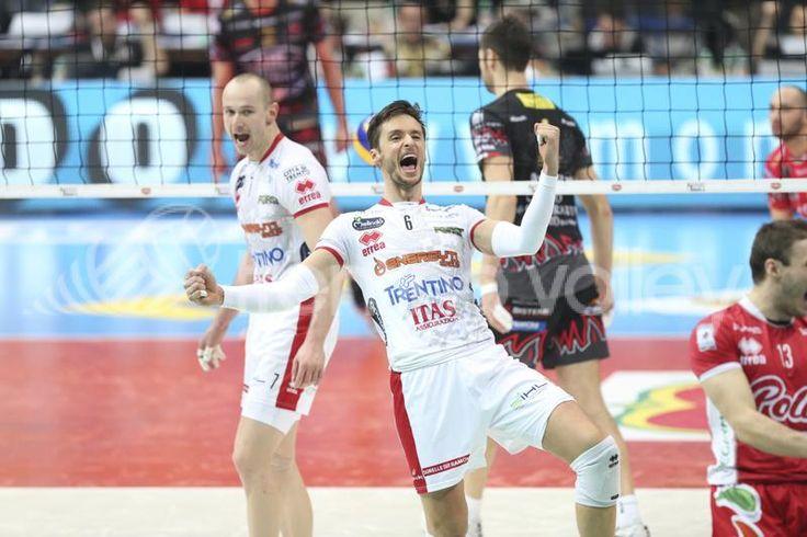 La gioia di Zygadlo #trentinovolley #volley