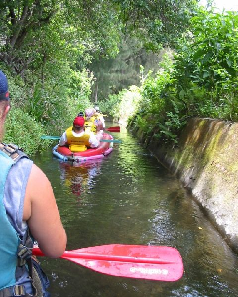 Flumin' Da Ditch - Kohala, Hawaii - An Ecotourist Attraction