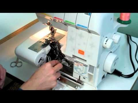 Video on what a serger can really do.
