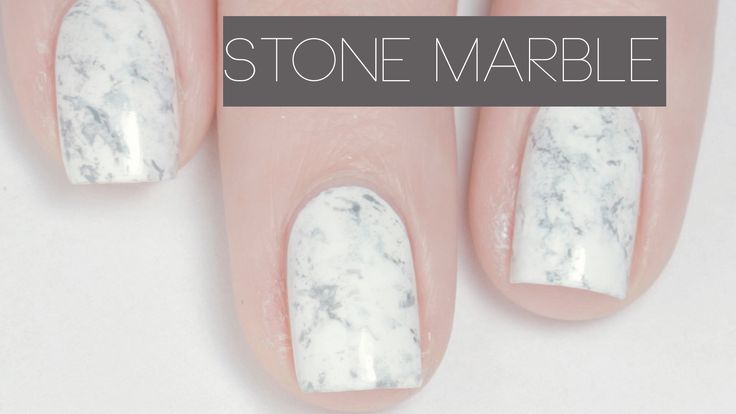 Stone Marble Nails