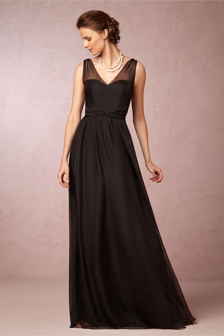Unique Josephine Dress from BHLDN Black Gold WeddingsBlack Wedding DressesWedding