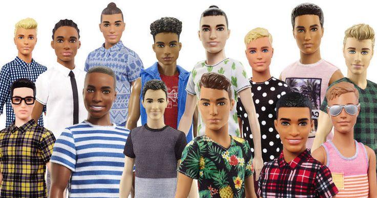 Спустя более чем полвека после своего появления бойфренд Куклы Барби, Кен, перестанет быть неизменно белокурым и голубоглазым.