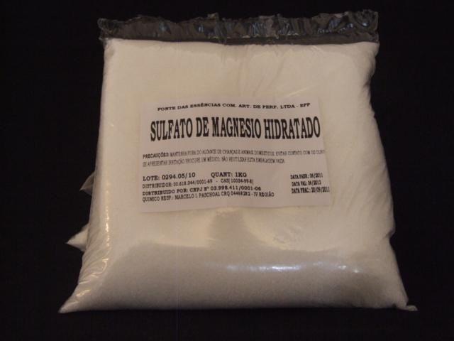 SULFATO DE MAGNÉSIO 1KG | Epsom Salt | Onde comprar