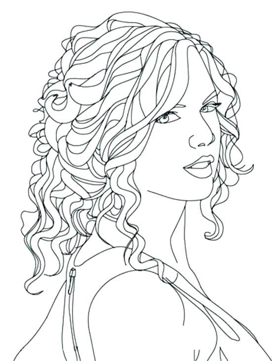 People Coloring Pages Free People Coloring Pages Easy Abstract