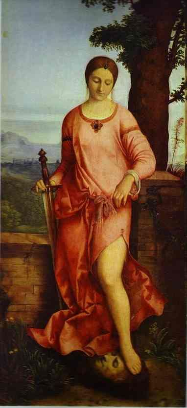 'Judith'    Artist:  Giorgione (1477-1510)  Discover the coolest shows in New York at www.artexperience...