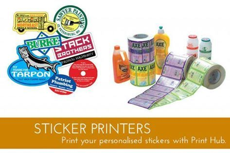 #Sticker Printers  #Print your personalised stickers with #PrintHub. Get high…
