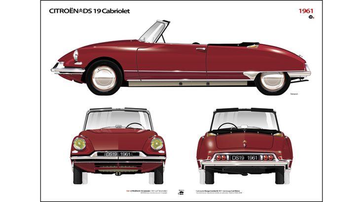 Citroën DS 19 Cabriolet