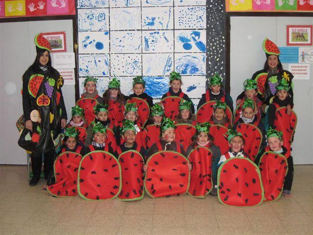 """Carnaval 2010 """" Fruites"""" - Escola Llibertat - Sindria"""