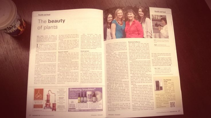 Organic NZ Feature article on The Beauty of Plants by Journalist Kyra Xavia