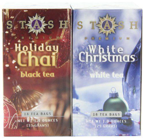 Stash Tea Company Holiday Chai & White Christmas Gift Set (Pack of 3) - http://mygourmetgifts.com/stash-tea-company-holiday-chai-white-christmas-gift-set-pack-of-3/