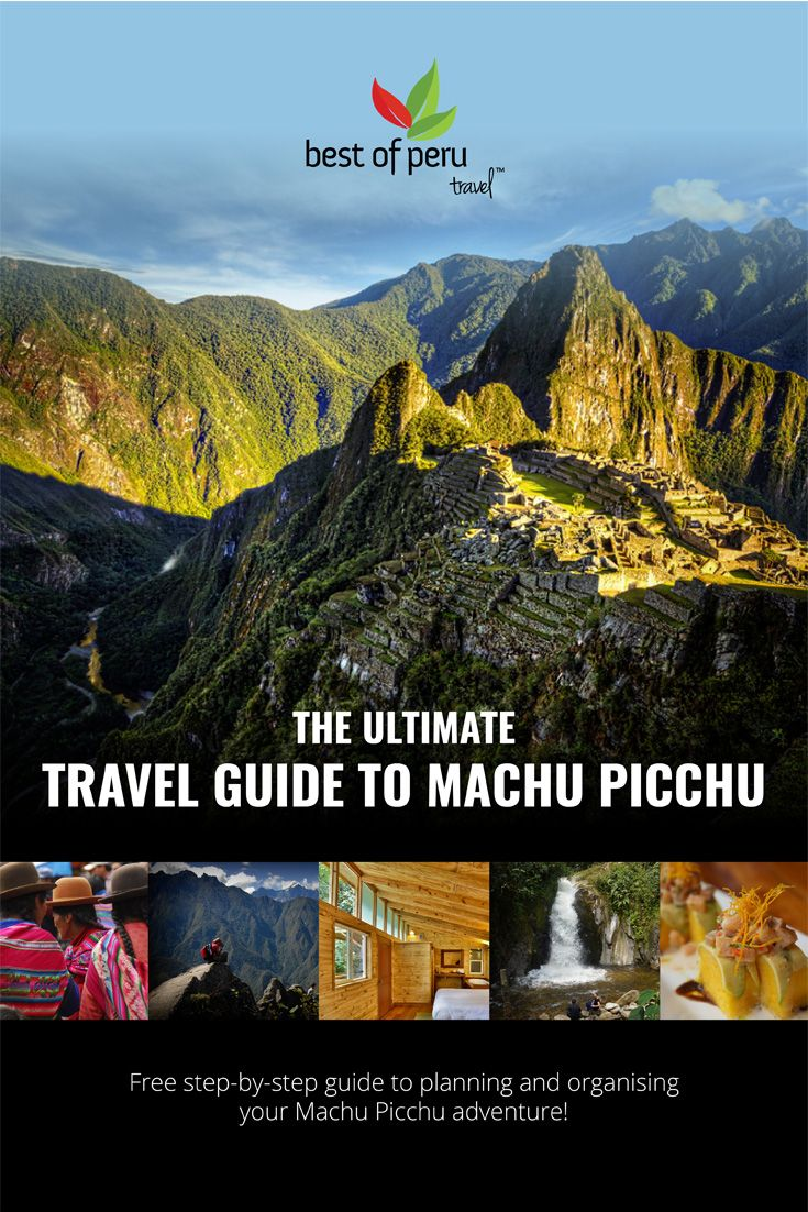 This free guide will teach you everything you need to know to plan, organise and book your own #MachuPicchu experience!