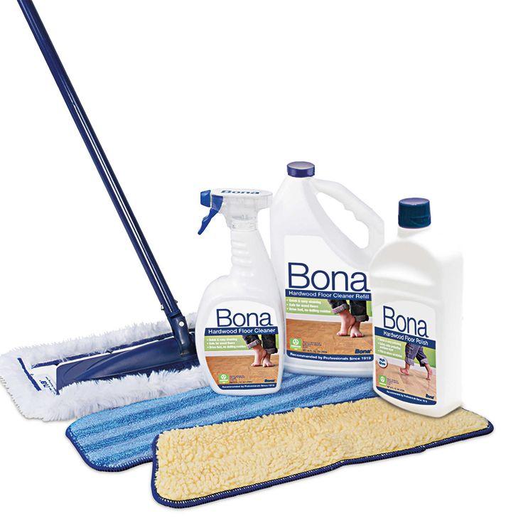 Bona® Ultimate Hardwood Floor Care Kit Refinishing