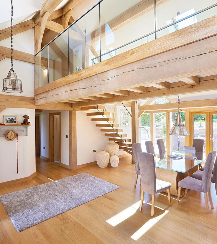 an oakwrights home by the sea