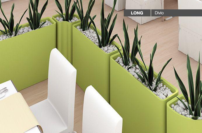 Bunte und lebendige Trennwände verleihen jedem Raum ein Frühlingsambiente auch im Winter.