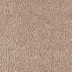 Carpet Sample - Metro II - Color Adobe Wash Texture 8 in. x 8 in.
