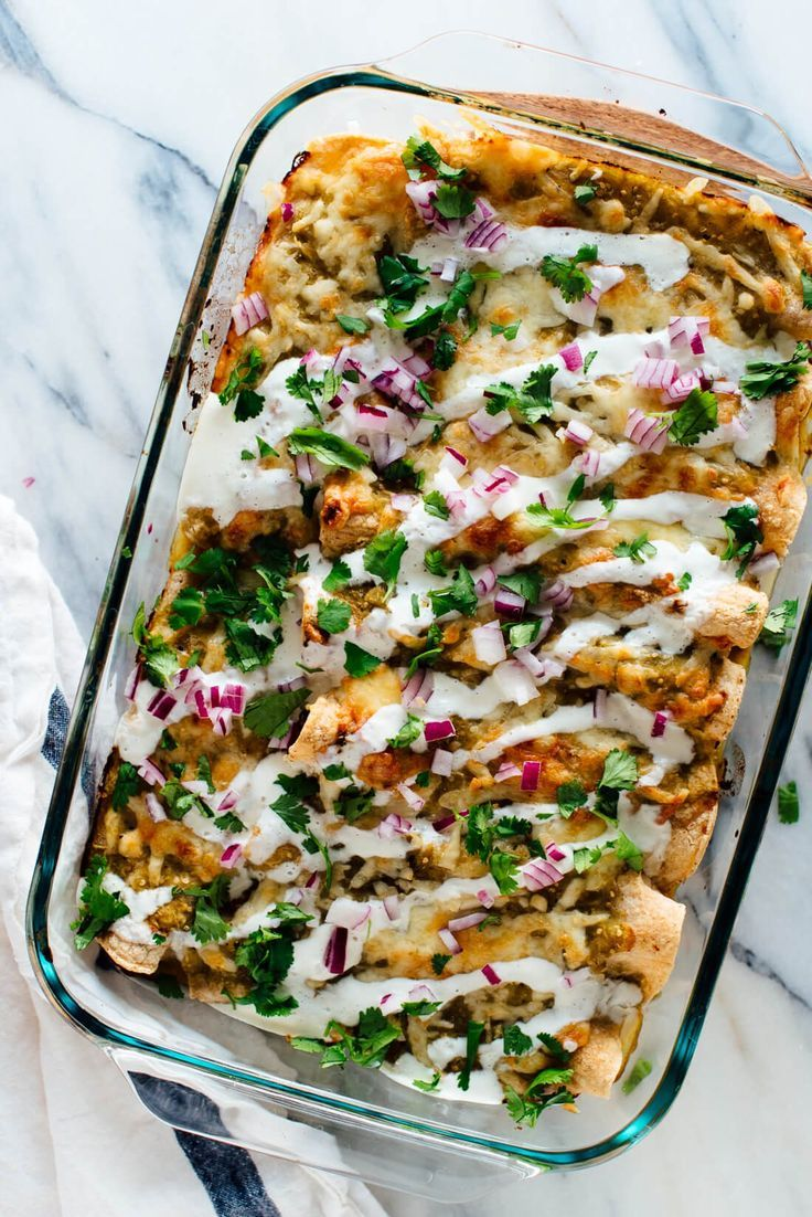 Vegetarian Black Bean Sweet Potato Enchiladas Recipe