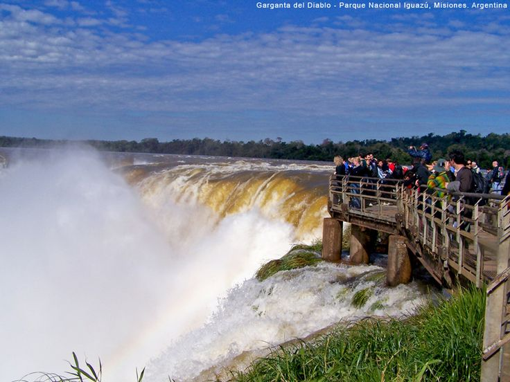 Garganta do Diabo - Cataratas del Iguazú - Parque Nacional Iguazú - Argentina