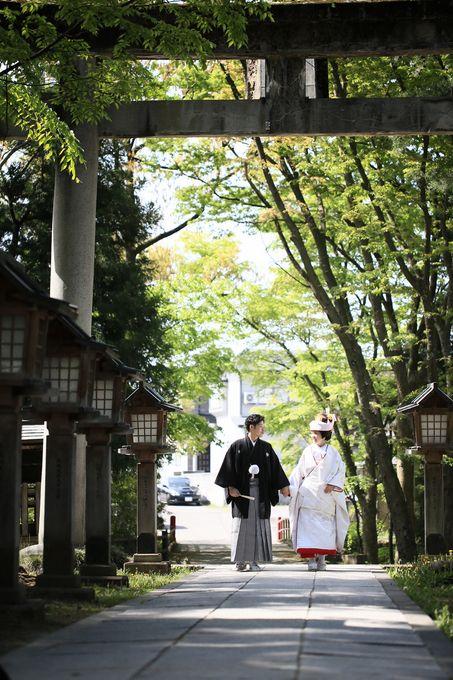 本日の結婚式!~神前式~