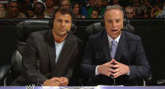 My favorite man on the planet, Scott Stanford, with Matt Striker on this week's Superstars. 8/23/12