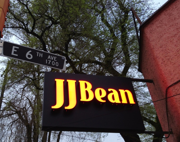 J.J.Bean of Vancouver, the only coffee shop to do a better