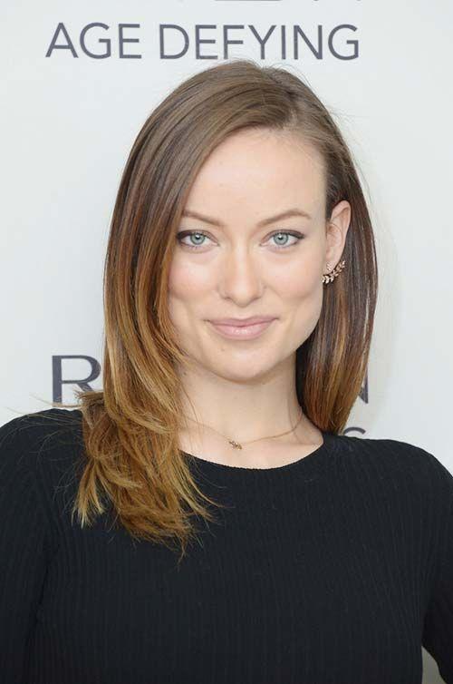 10 Shoulder-Length Layered Hairstyles: Olivia Wilde  #hair #hairstyles #layeredhair