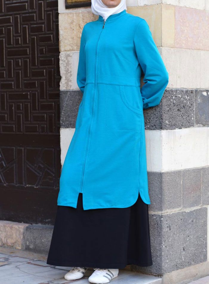 SHUKR USA | Keep Fit Zipped Tunic