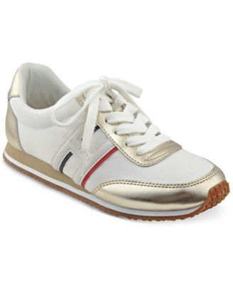 TOMMY HILFIGER Tommy Hilfiger Vibe Sneakers. #tommyhilfiger #shoes # all women